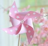 Pinwheel polka dot