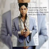 Prince, peace of mind