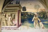 Abbazia Monte Oliveto Magg.e Siena affresco Sodoma 16 su acqua