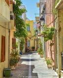 Narrow street in Rethymnon