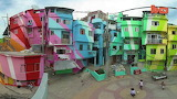 ^ Street Art Transforms Slums In Brazil