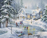 A Fine Winters Eve by Nicky Boehme