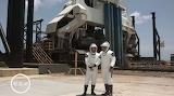 "Space NASA SpaceX ""Demo 2"" "" Bob Behnken and Doug Hurley at laun"