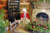 ^ Appalachian farm Christmas