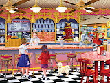 50's Ice Cream Shop
