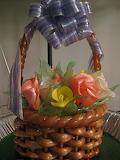 No splinters, bones or thorns in this sweet basket.
