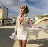 Susan Sarandon at Burning Man