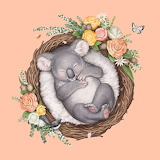Baby Koala by Elise Martinson
