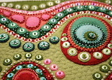 quilted buttons