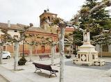 A Square and Font in Poblacion de Campos