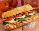 ^ Smoked turkey sub sandwich