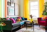 Colorful interior design