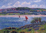 Balon River, Finistere by Henri Moret 1908