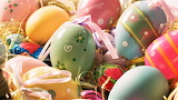 #Decorated Easter Eggs