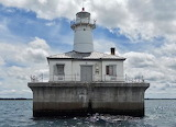 Fourteen Foot Shoal Light, Lake Huron, Cheboygan, Michigan