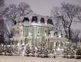 Snowy Victorian House ~ 1