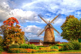 Autumn Windmill Minden Germany