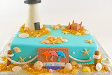 Lighthouse cake @ cakecupcake.org