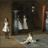 John Singer Sargent, The Daughters of Edward Darley Boit, 1882