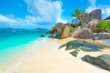 Beach in the Seychelles Archipelago