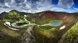 Island, Fjallabak Gebirge