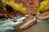 Entrance to Zion Narrows...