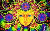 colorful head mandala