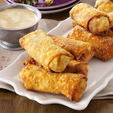 ^ Egg Rolls and dipping sauce