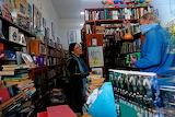 South Africa, Pretoria, book shop in lockdown