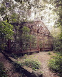 Abandoned 19th century greenhouse