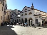 Mercado delr Calle Fertia Sevilla Spanje