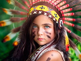 #Little Girl Native American
