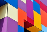Colours colorful geometric