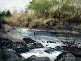 River Fisherman-Arthur Shilstone