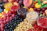 Using the harvest Raspberry Currant Fruit Berry Jar