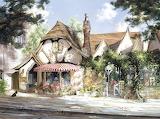 ^ Tuck Box Tea Room, Carmel-by-the-Sea, California ~ Marty Bell