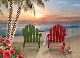 ^ Tropical Sunset Christmas