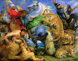 The Tiger Hunt, by Rubens...