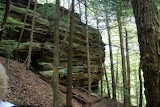 Our Hike Today At Whispering Cave,Ohio