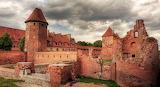 The Malbork Castle. Poland