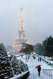 Winter in Pris
