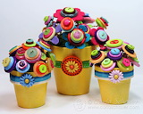 ^ Button flowers