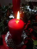 Candlelight and Holly