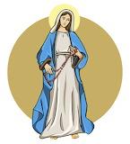 Maryja z różańcem