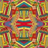 Ethnic colourful design