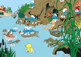 Smurfs Swimming Hole