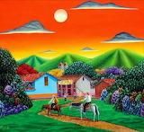 ^ Columbian naive art - Alejandro Pinzón