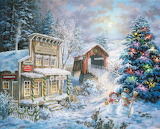 Christmas Art by Nicky Boehme...