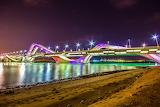 Sheikh Zayed Bridge, Abu Dhabi - photo (c) Asif Patel