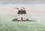 "Art tumblr lustik ""Sophie Blackall"" ""Sea House"" Etsy"